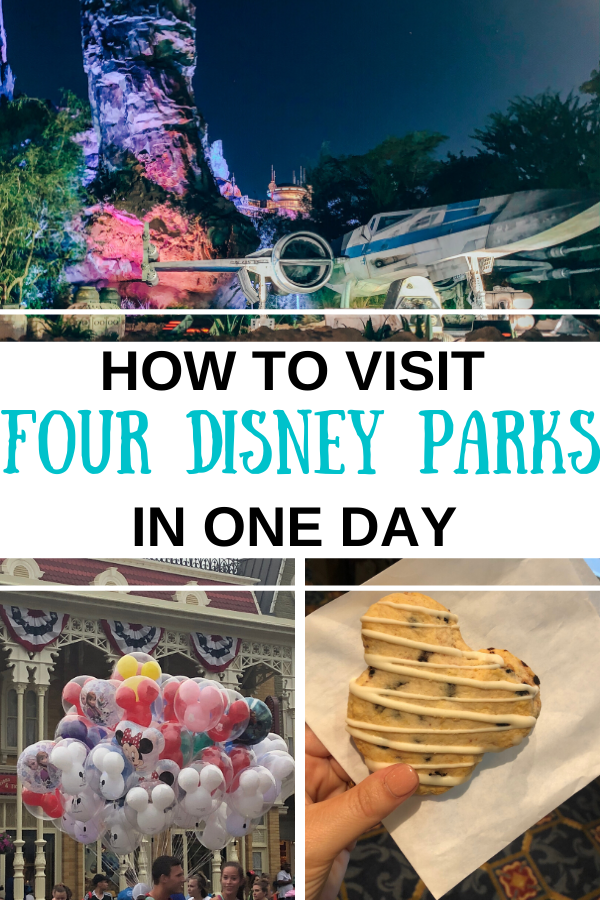 Visiting Four Disney Parks in One Day