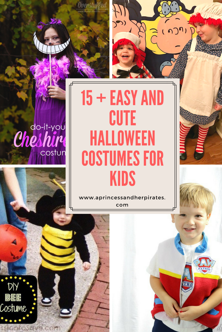 Maybe someday the DIY Halloween costume match will strike my fancy but not yet. I hope to send you some inspiration for an easy and cute Halloween costume ...  sc 1 st  A Princess and Her Pirates & Easy and CUTE Halloween Costumes for Kids - A Princess and Her Pirates
