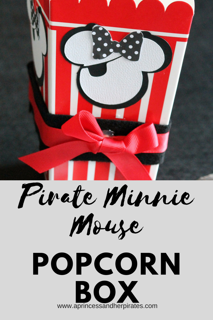 Minnie Mouse, Popcorn Box