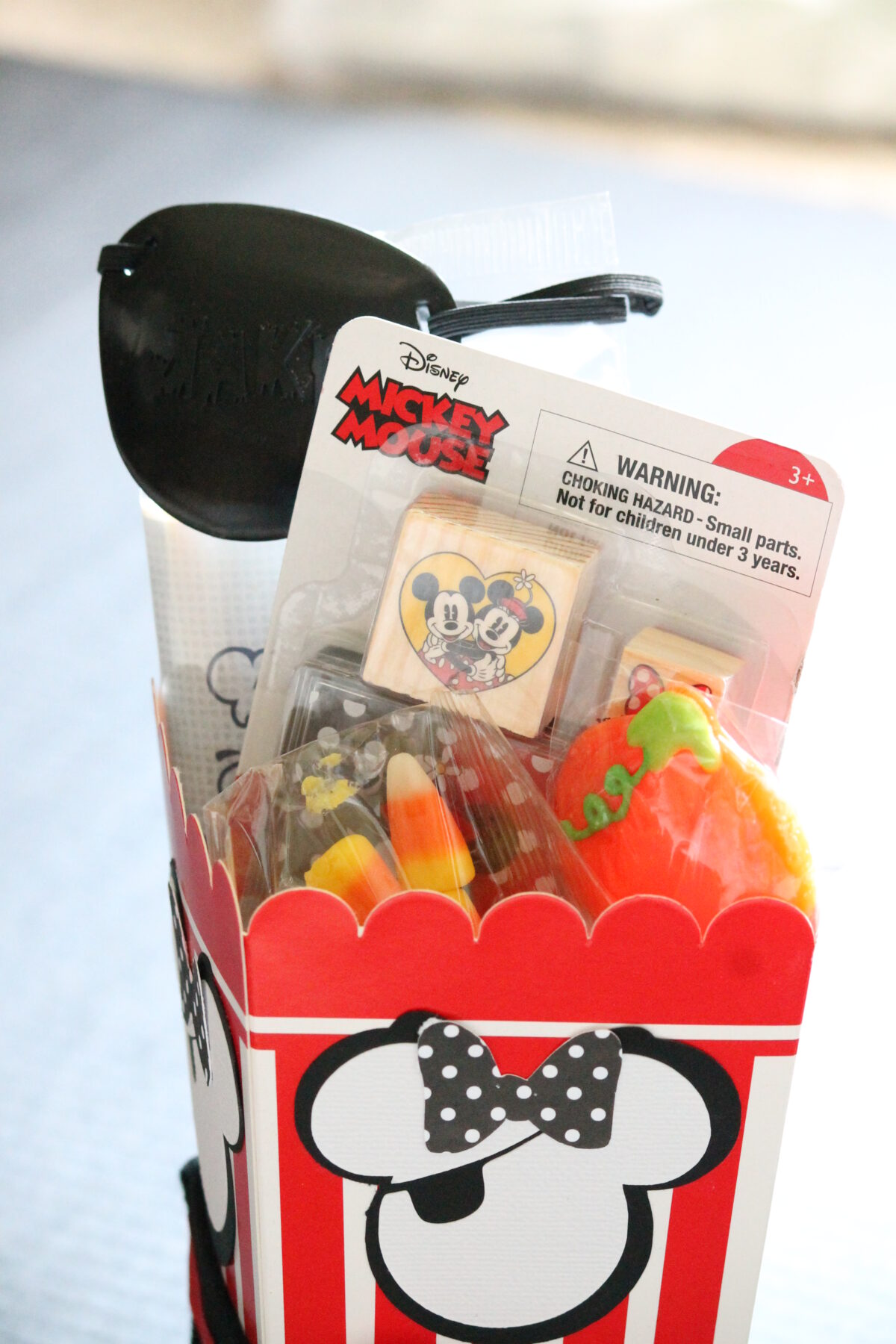 Minnie Mouse Popcorn Box and Giveaway