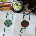 DIY Christmas Cloth Napkins