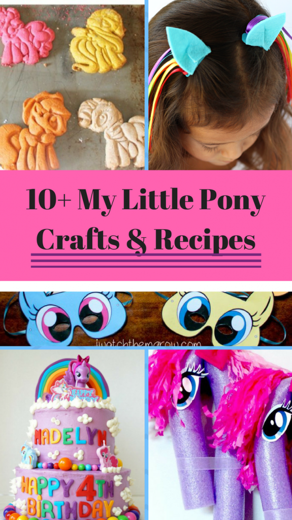 my little pony crafts ideas 10 my pony recipe and craft ideas a princess and 6943