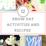 Snow Day Recipes & Activities for Kids