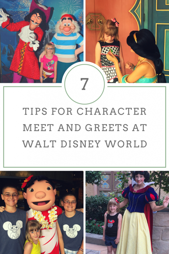 Character Meet and Greets at Walt Disney World