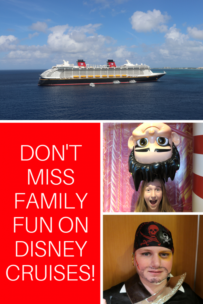 Don't Miss Family Activities on Disney Cruise Line