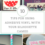 Tips for Using Adhesive Vinyl
