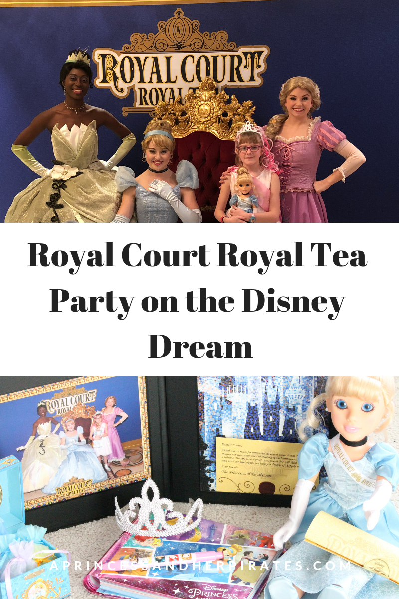Royal Court Royal Tea Party on Disney Cruise Line