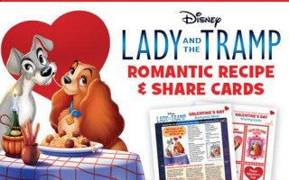 Lady and the Tramp Exclusive Activities, Recipes, and More