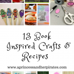 13 Book Inspired Crafts & Recipes