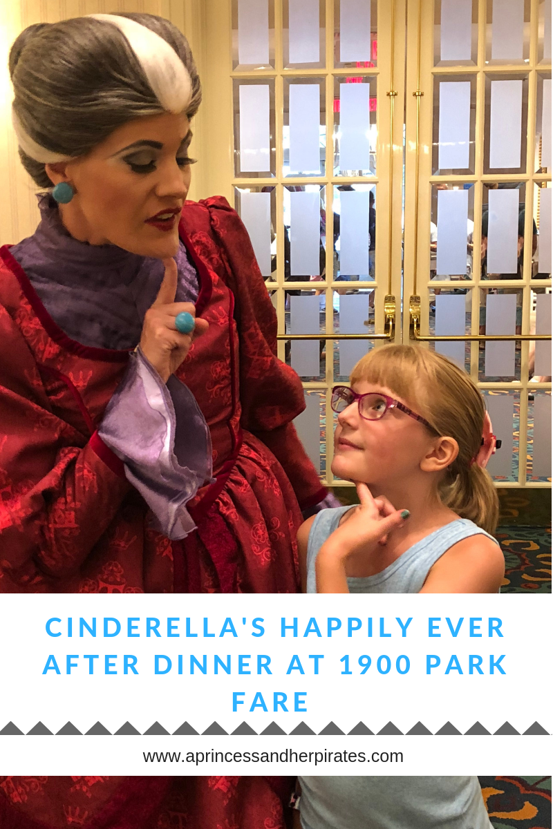 Cinderella's Happily Ever After Dinner at 1900 Park Fare