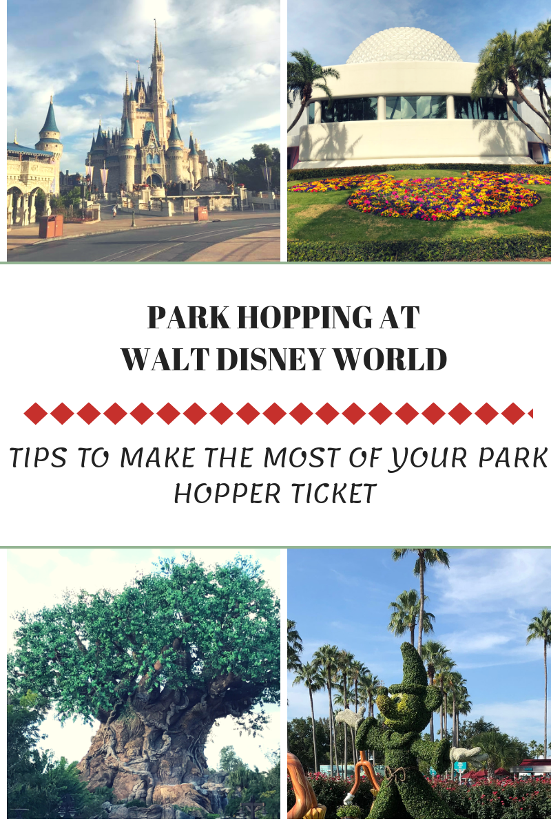 Park Hopping at Walt Disney World
