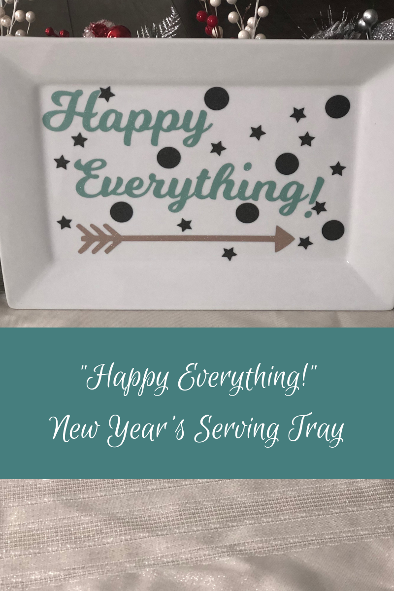 Happy EVERYTHING New Year's Serving Tray