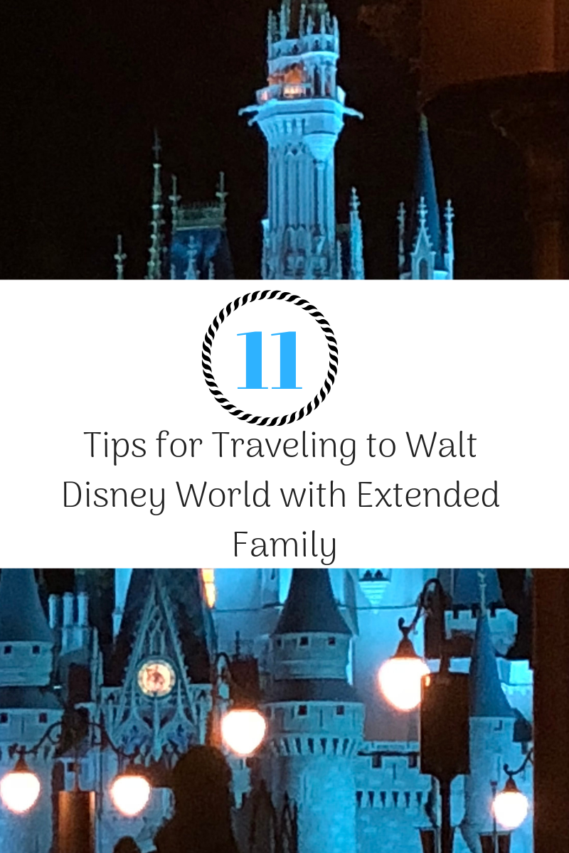 11 Tips for Traveling with Extended Family to Walt Disney World
