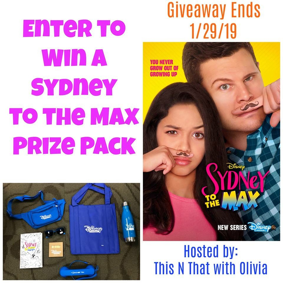 Sydney to the Max Prize Pack Giveaway