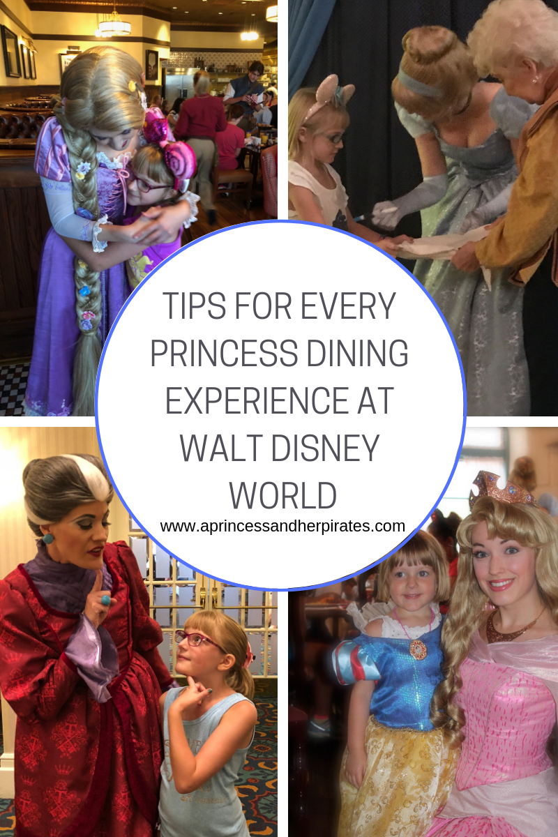Princess Dining Locations at Walt Disney World