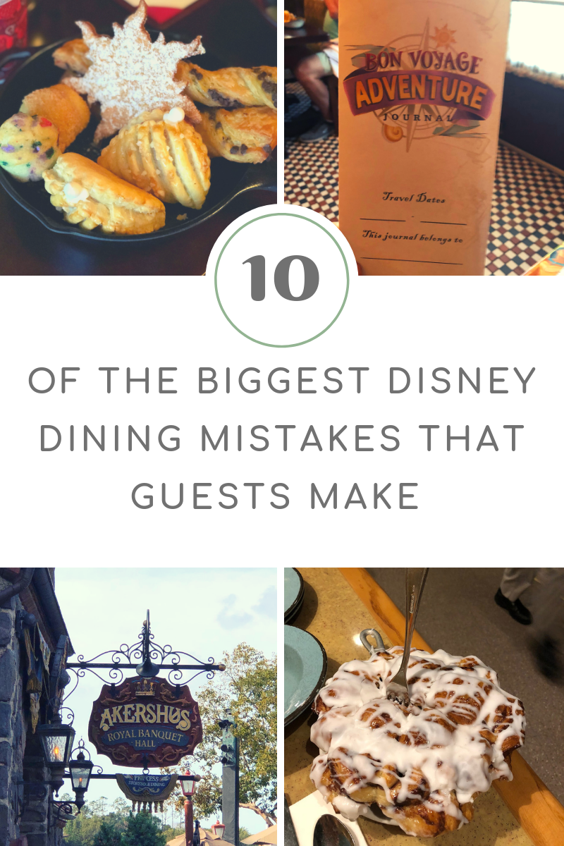 The TEN Biggest Disney Dining Mistakes that Guests Make