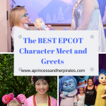 These are the BEST EPCOT Character Meet and Greets. Pin this for your next trip!