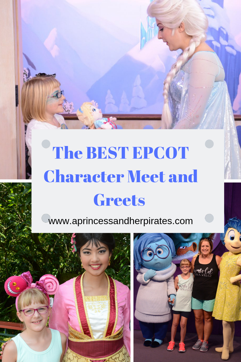 The BEST EPCOT Character Meet and Greets