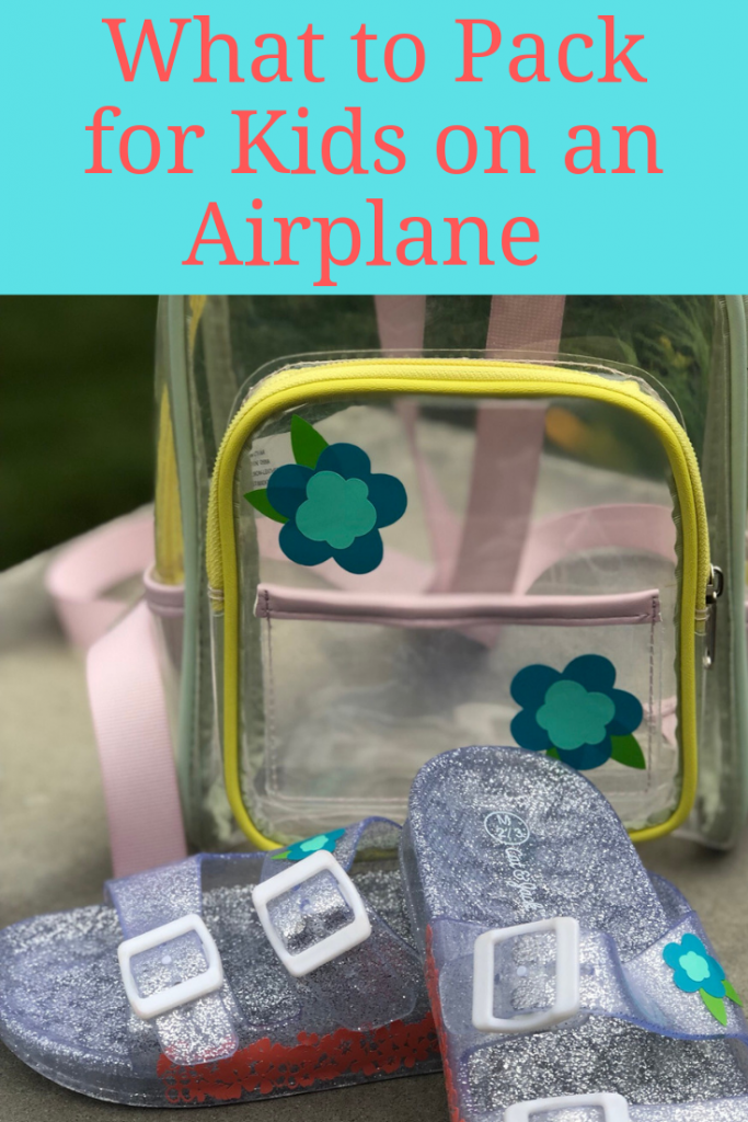 What to Pack for Kids on an Airplane ~Fun essentials and easy ways to make them extra cute!