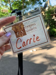 The Caring for Giants Tour at Disney's Animal Kingdom park is so much fun!