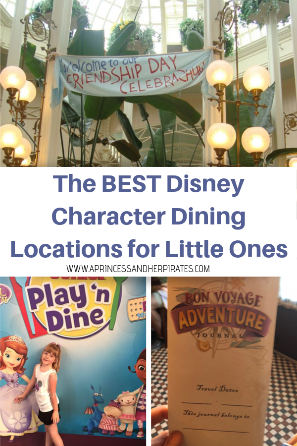 Disney Dining for Little Ones
