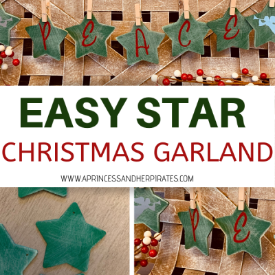 Easy Christmas Garland