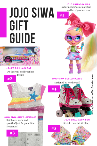 JoJo Siwa Holiday Gift Guide for Tween Girls 2019 #jojogifts #christmasgifts #tweengifts #giftguide