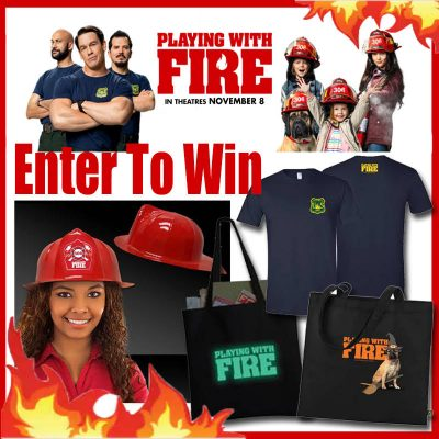 Playing with Fire Coming to Theaters + Movie Swag Giveaway!
