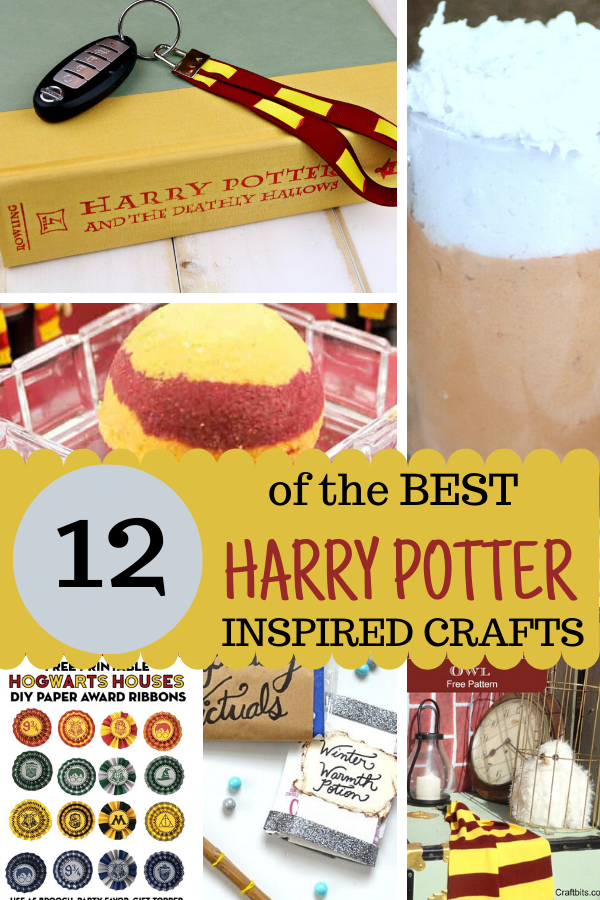 Harry Potter Crafts ~ Great ideas for Harry Potter DIY, or to count down to a trip to Universal. #wwohp #harrypottercrafts #craftsforkids