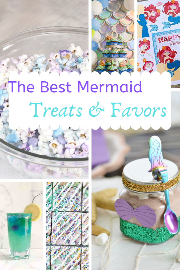 These are the best Mermaid Party Ideas!  #mermaidparty #birthdayparty #mermaids