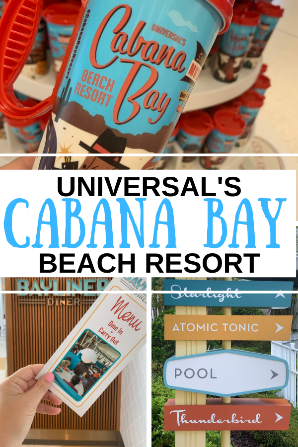 Cabana Bay Beach Resort at Universal is budget friendly, fun and well themed!