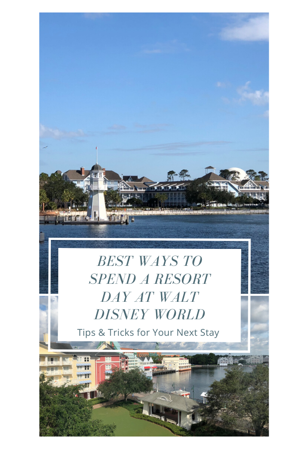 Spending a day at your Disney resort is important to a great trip! These tips and tricks for enjoying a resort day are great!