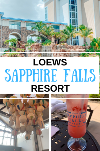 Loews Sapphire Falls is beachy, relaxing, and perfect for your next Universal vacation.