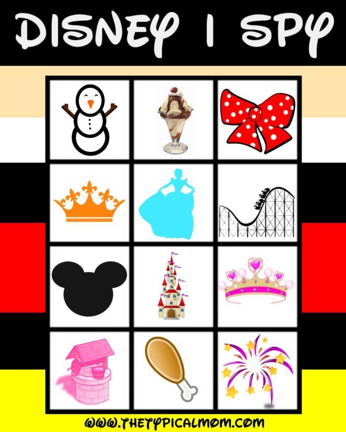 Disney I SPY