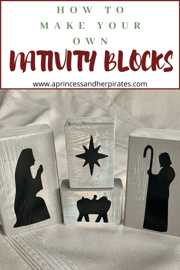 DIY Nativity Blocks are a great craft for the whole family! Add these to your DIY gift list, or to your own Christmas decor!