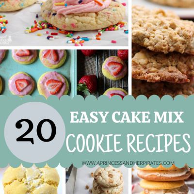 20 Easy Cake Mix Cookie Recipes