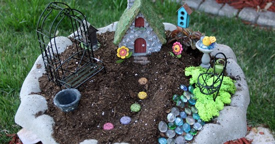 How to Make a Fairy Garden with Kids