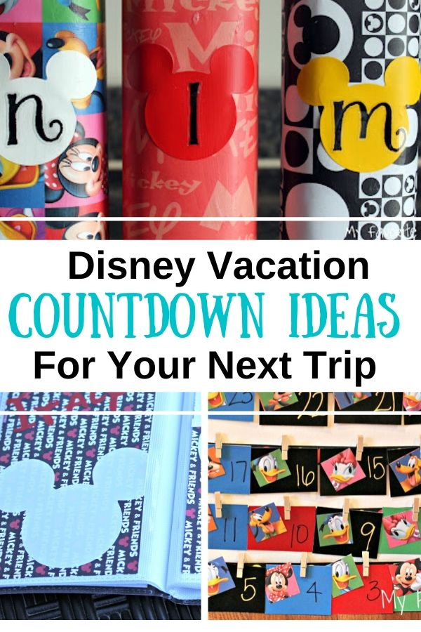 Fun Ways to Count Down to Disney
