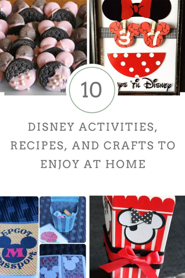 Disney Activities to Enjoy at Home