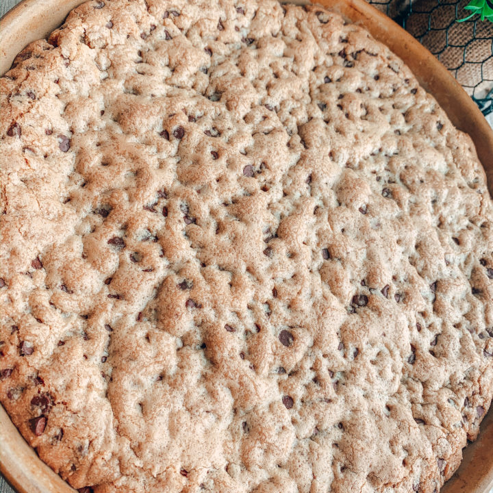 Chocolate Chip Cookie Pizza Recipe