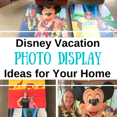 Disney Vacation Photo Ideas