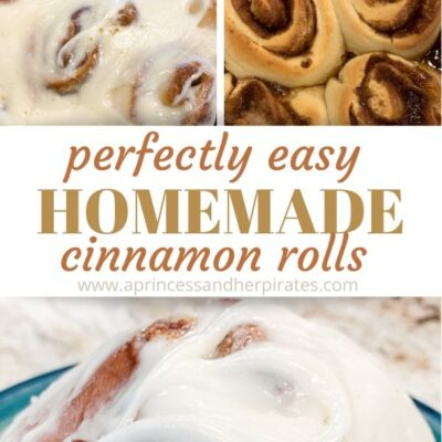 Perfectly Easy Homemade Cinnamon Rolls