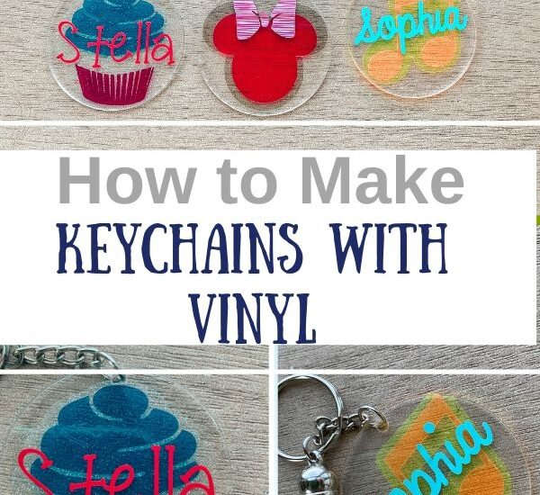 How to Make Keychains with Vinyl