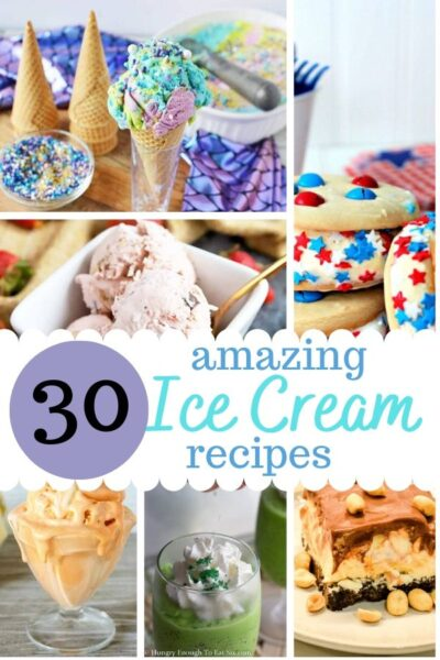 Ice Cream Recipes ~ Whether you need a sweet treat, an easy treat, or a special birthday treat, ice cream is always a win! #icecream #summerrecipes