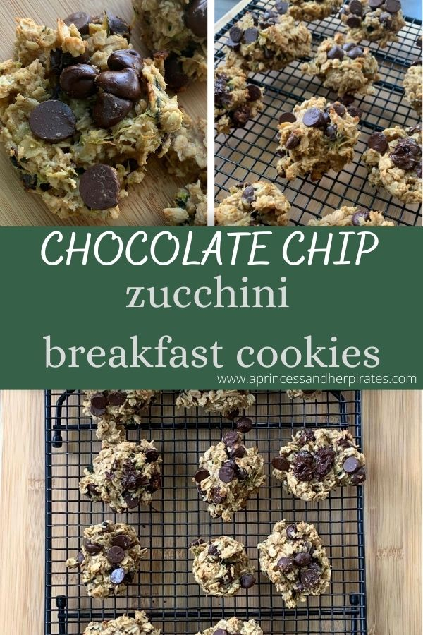These soft and chewy Zucchini Breakfast Cookies make the perfect healthy breakfast and on-the-go snack! Best of all, they're so easy to make with no mixer required.