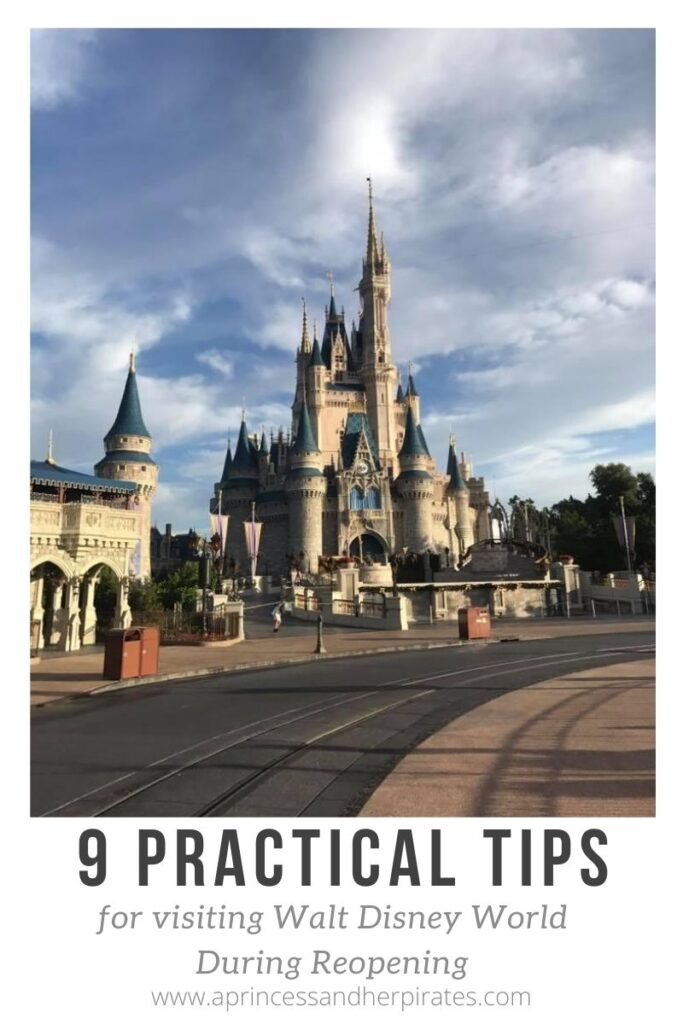 Tips for Visiting Walt Disney World During Reopening