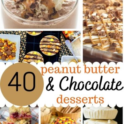 40 Peanut Butter and Chocolate Desserts