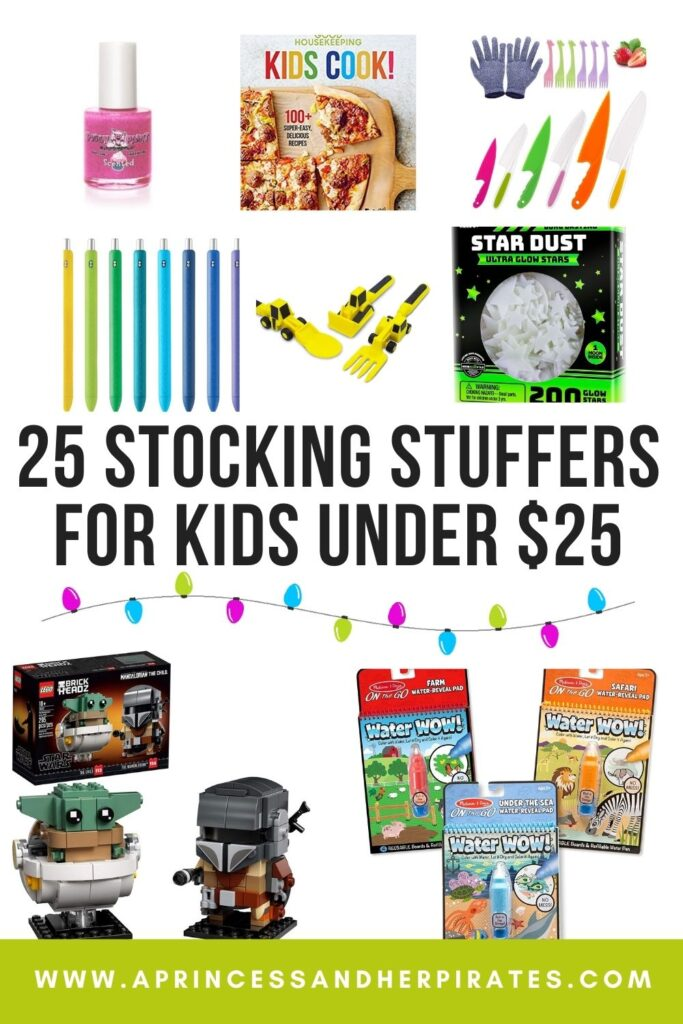 25 Stocking Stuffers for Kids Under $25