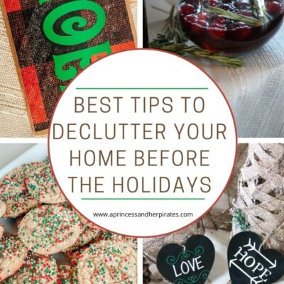 Tips for Decluttering Before the Holidays