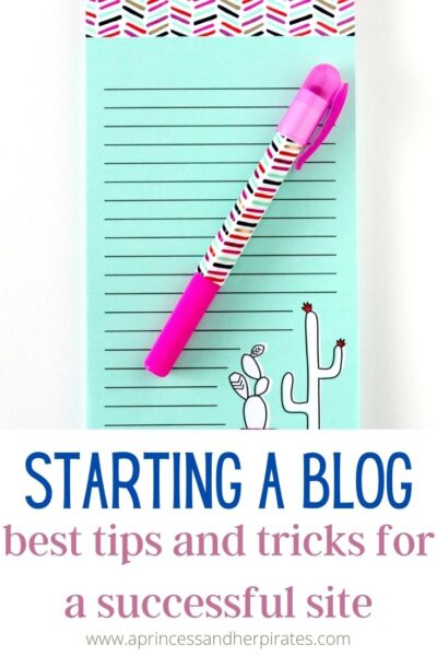 Tips for Starting a Blog